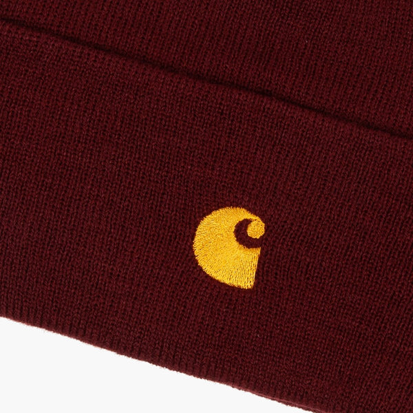 Accessories One Size Carhartt WIP Chase Beanie I026222.06 JD.90 -Bordeaux-One Size Carhartt
