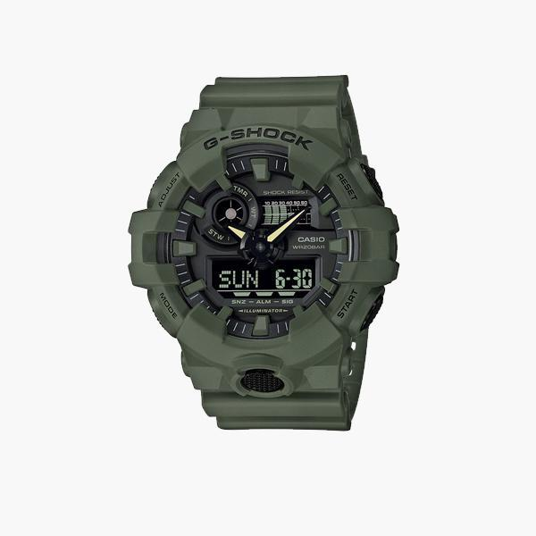 Accessories One Size Casio G-Shock  GA-700UC-3AER GA-700UC-3AER-Green-One Size Casio