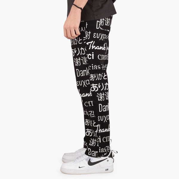 Clothing Chinatown Market Multi Language Pants Chinatown Market