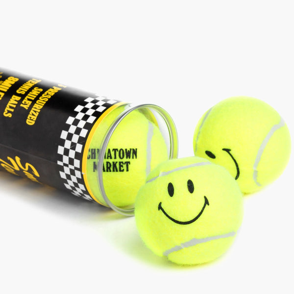 Accessories Yellow / One Size Chinatown Market Smiley Tennis Ball Tube CTM-TNBL-Yellow-One Size Chinatown Market