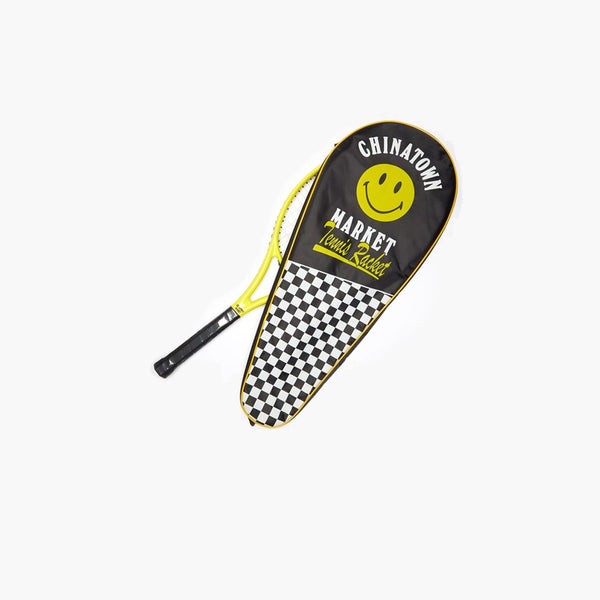 Accessories Yellow / One Size Chinatown Market Smiley Tennis Racket CTM-TRK-Yellow-One Size Chinatown Market