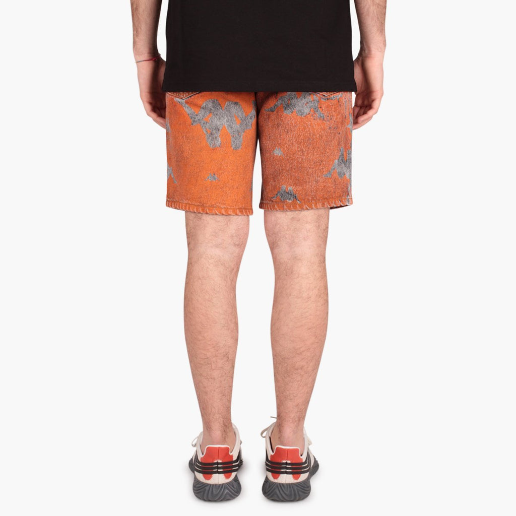 Clothing Kappa x Danilo Paura Donald Denim Shorts All Over Kappa x Paura