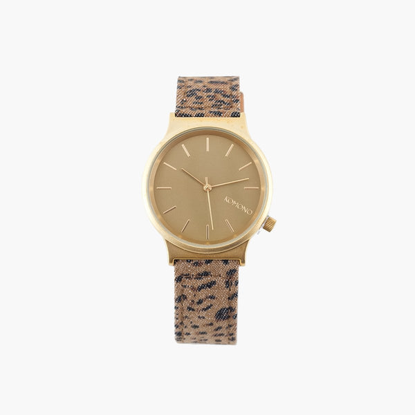 Accessories One Size Komono Watches Wizard Print Series 3570047-LEOPARD-One Size Komono