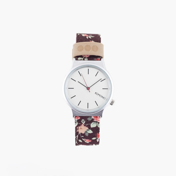 Accessories One Size Komono Watches Wizard Print Series 3570048-ROSEBERRY-One Size Komono