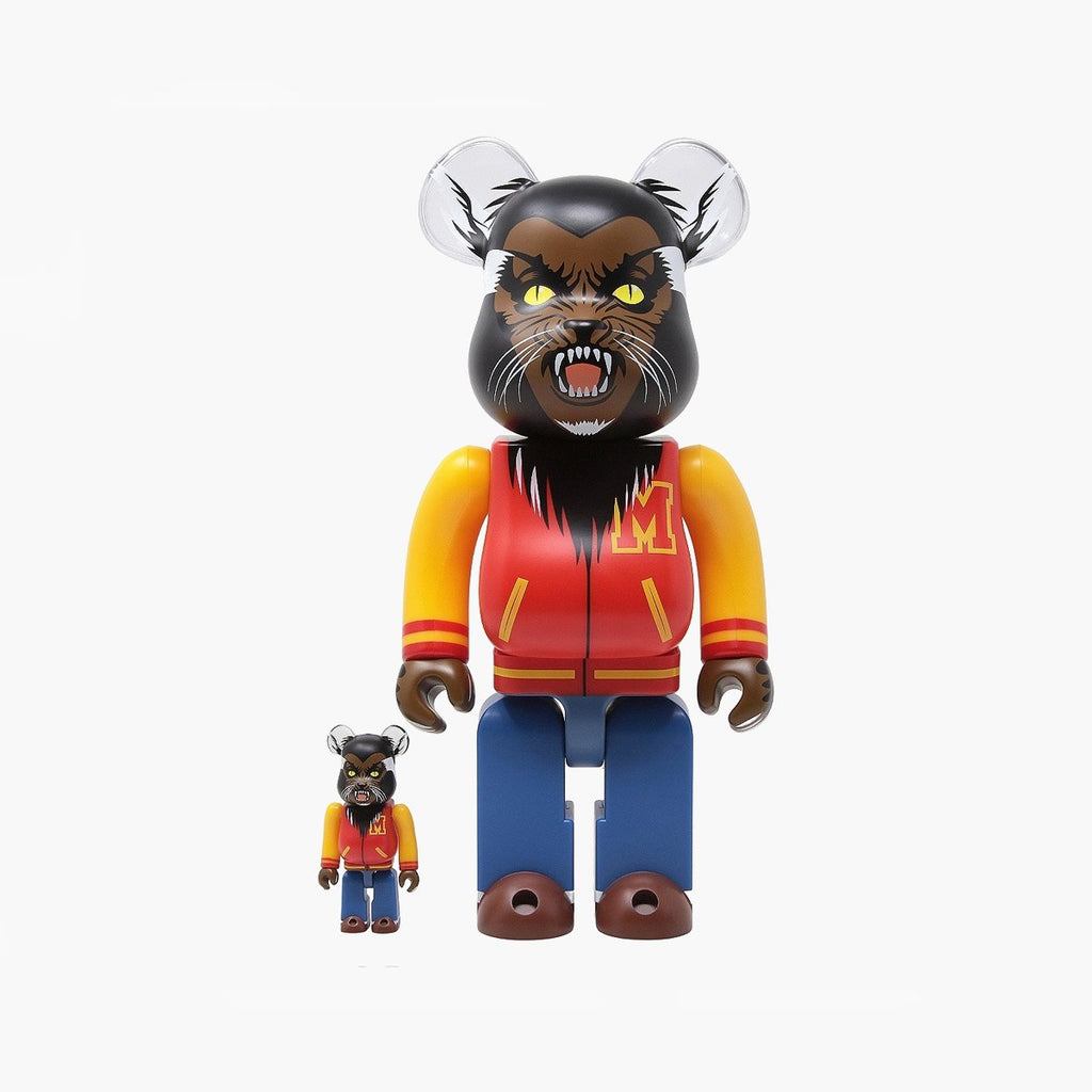 Accessories One Size Medicom Toy Bearbrick 100%+400% MICHAEL JACKSON WEREWOLF 14MJWEREWOLF-Black-One Size Medicom Toy
