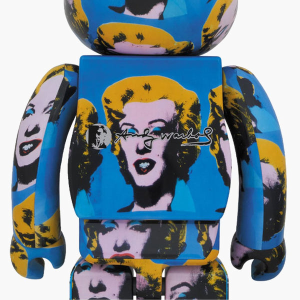 Accessories Multi / One Size Medicom Toy Bearbrick Andy Warhol Marilyn Monroe 1000WAMARILYN-Multi-One Size Medicom Toy