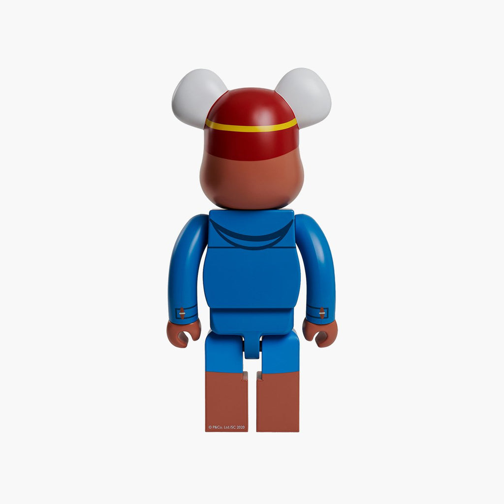 Accessories One Size Medicom Toy Bearbrick Paddington 1000% 1000PADDINGTON-Blue-One Size Medicom Toy
