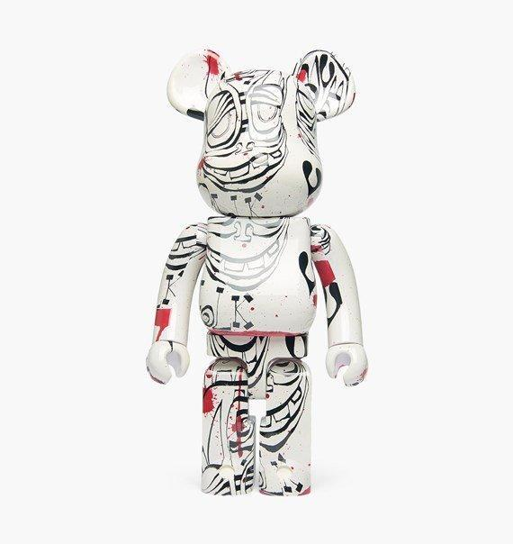 Accessories One Size Medicom Toy Bearbrick Phil Frost 1000% 14PHILFROST-Whitte-One Size Medicom Toy