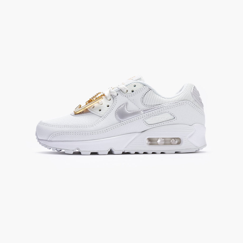 Nike Air Max 90 Women's DC1161-100 -White-4 us – SUEDE Store