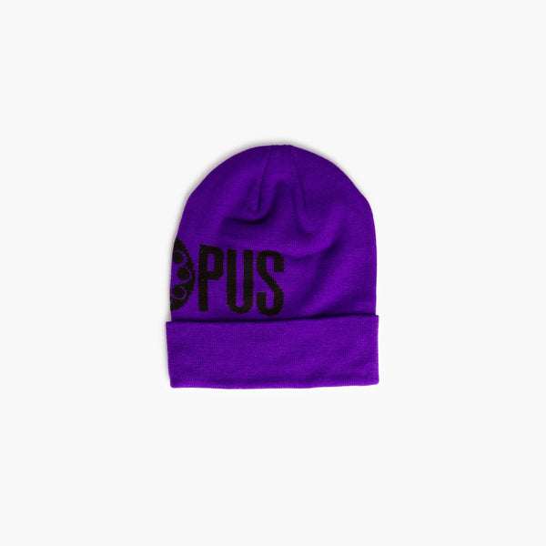 Accessories One Size Octopus Logo Fold Beanie CRVROBNP08-Purple-One Size Iuter