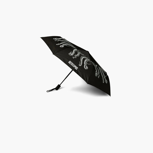 Accessories One Size Octopus Outline Umbrella CRVROACP03-Black-One Size Iuter