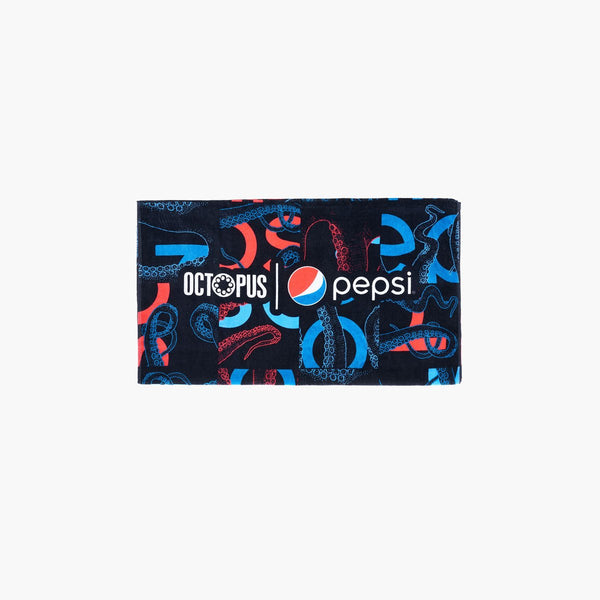 Accessories One Size Octopus x Pepsi Camo Towel 21SOTWP70-Black-One Size Iuter