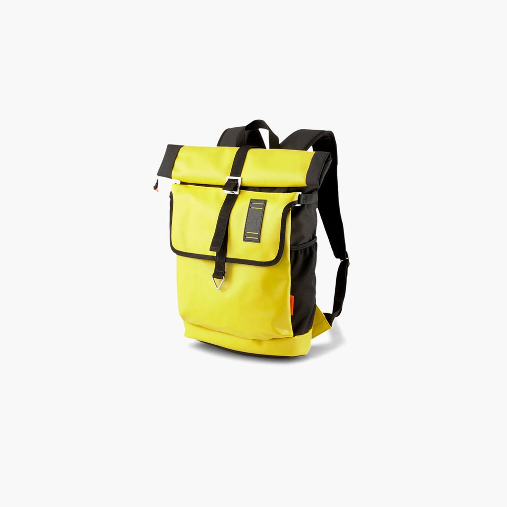 Accessories One Size PUMA CSM Rolltop Backpack 07745801-Yellow-One Size Puma