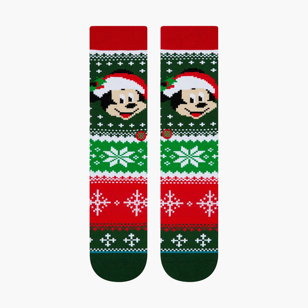 Accessories Large/XLarge Stance Mickey Claus 62519DY001-Black-Large/XLarge Stance