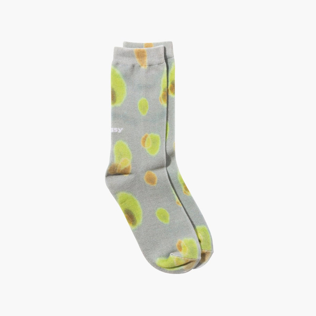 Accessories One Size Stussy Blob Everyday Socks 138700-Olive-One Size Stussy