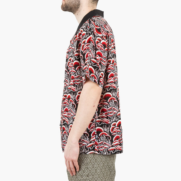 Clothing Stussy Coral Pattern Shirt Stussy