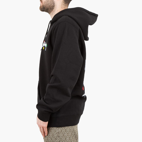 Clothing Stussy Dot Collage Hoodie Stussy