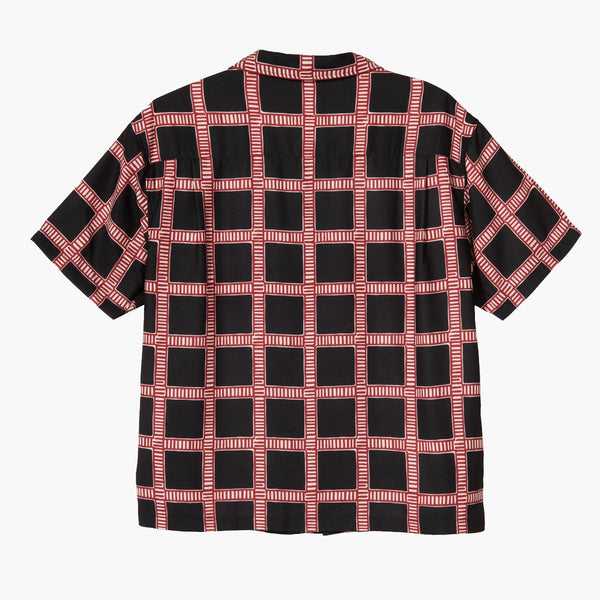 Footwear Stussy Hand Drawn Plaid Shirt Stussy