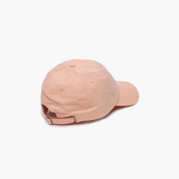 Accessories One Size Stussy Seersucker Low Pro Cap 131800-Peach -One Size Stussy