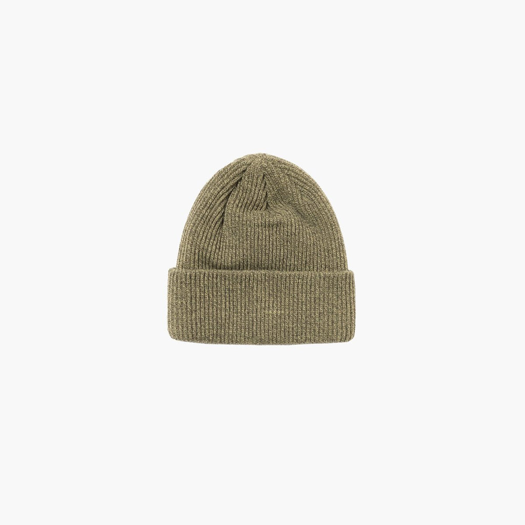 Accessories One Size Stussy Small Patch Watch Cap Beanie 132988-Olive-One Size Stussy
