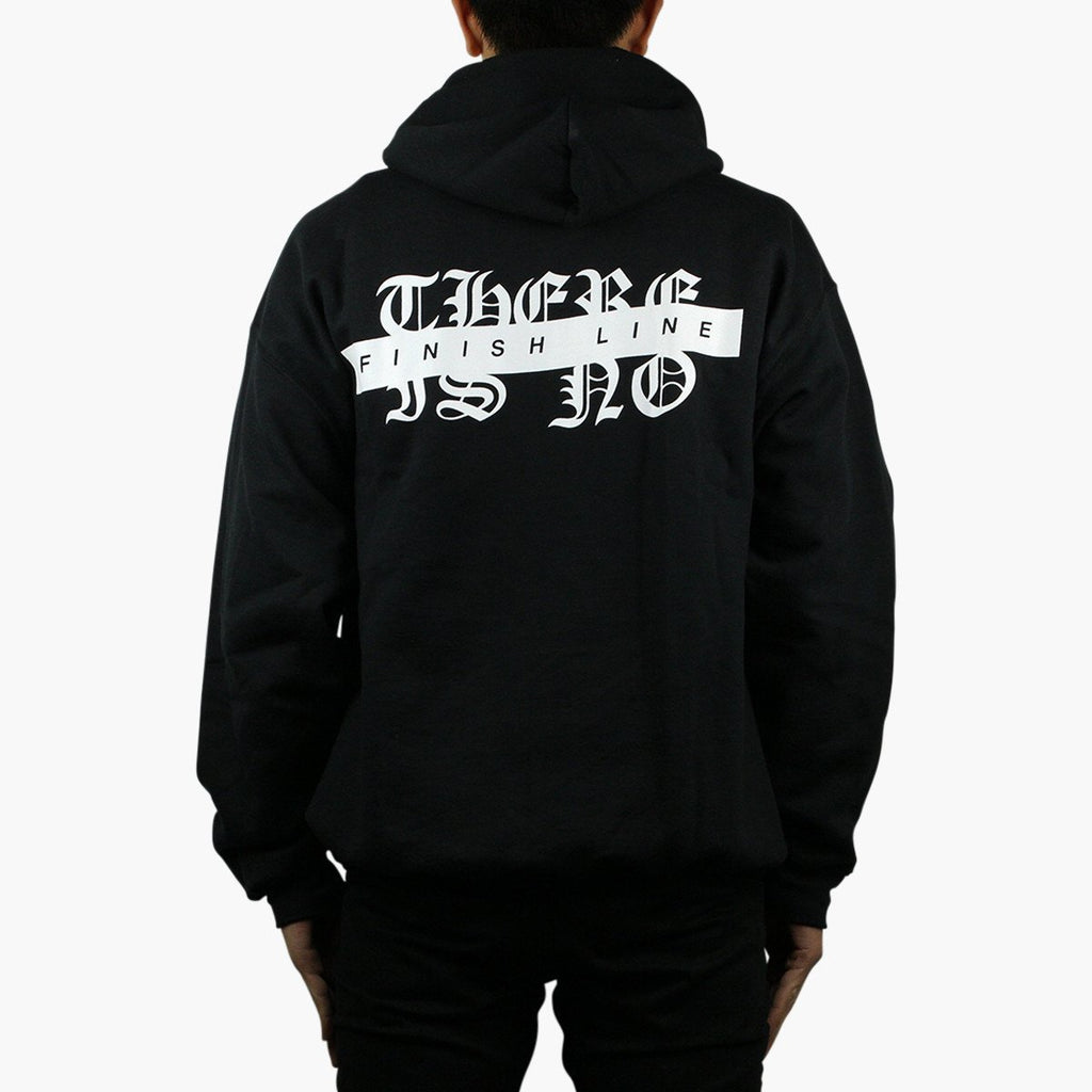 Clothing Suede No Finish Line Black Hoodie Suede