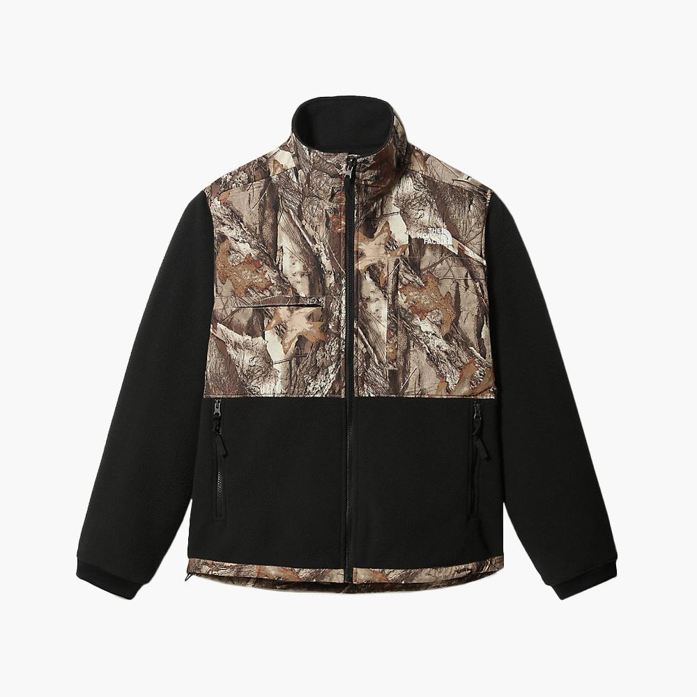 Clothing The North Face Denali Jacket Forest Floor Print North Face