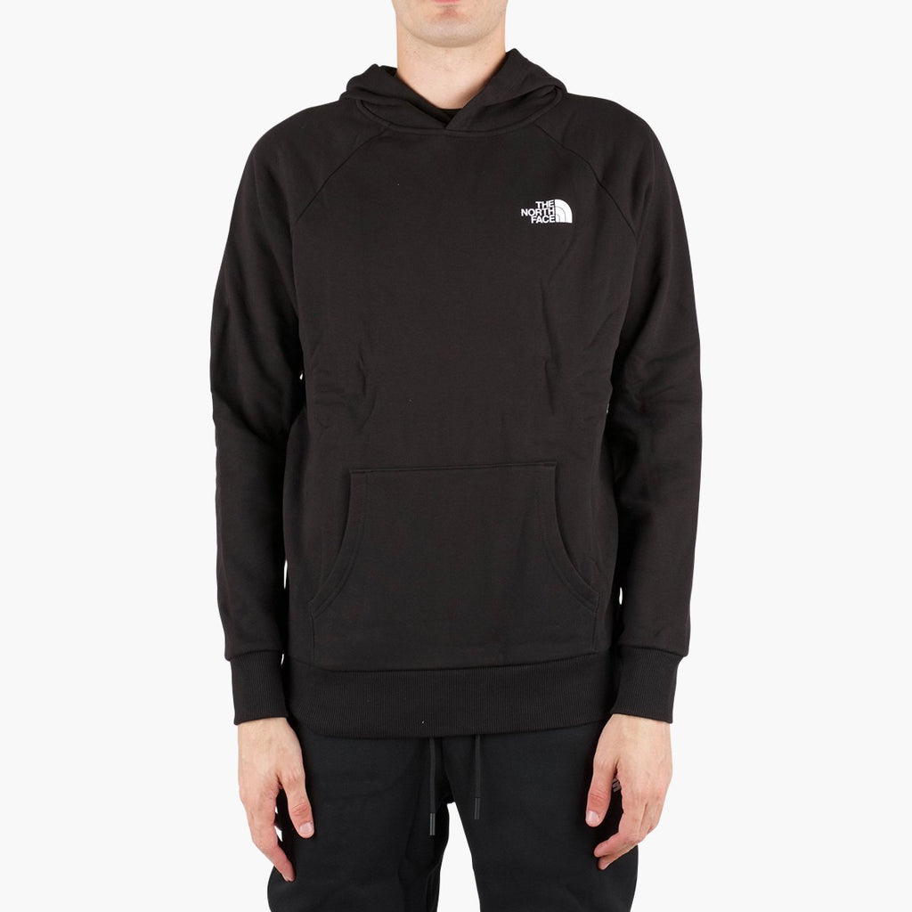 Clothing The North Face Raglan Red Box Hoodie North Face