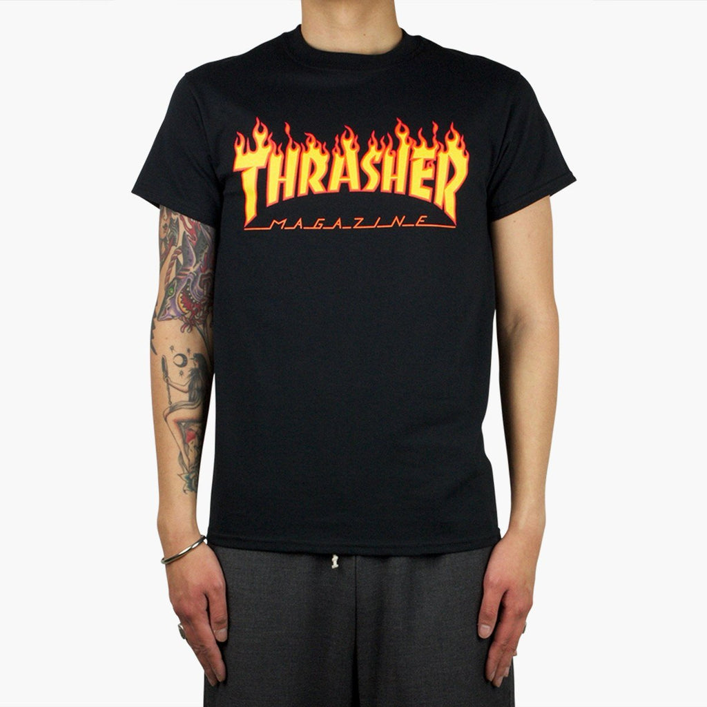 Clothing Thrasher Flame T-Shirt Trasher