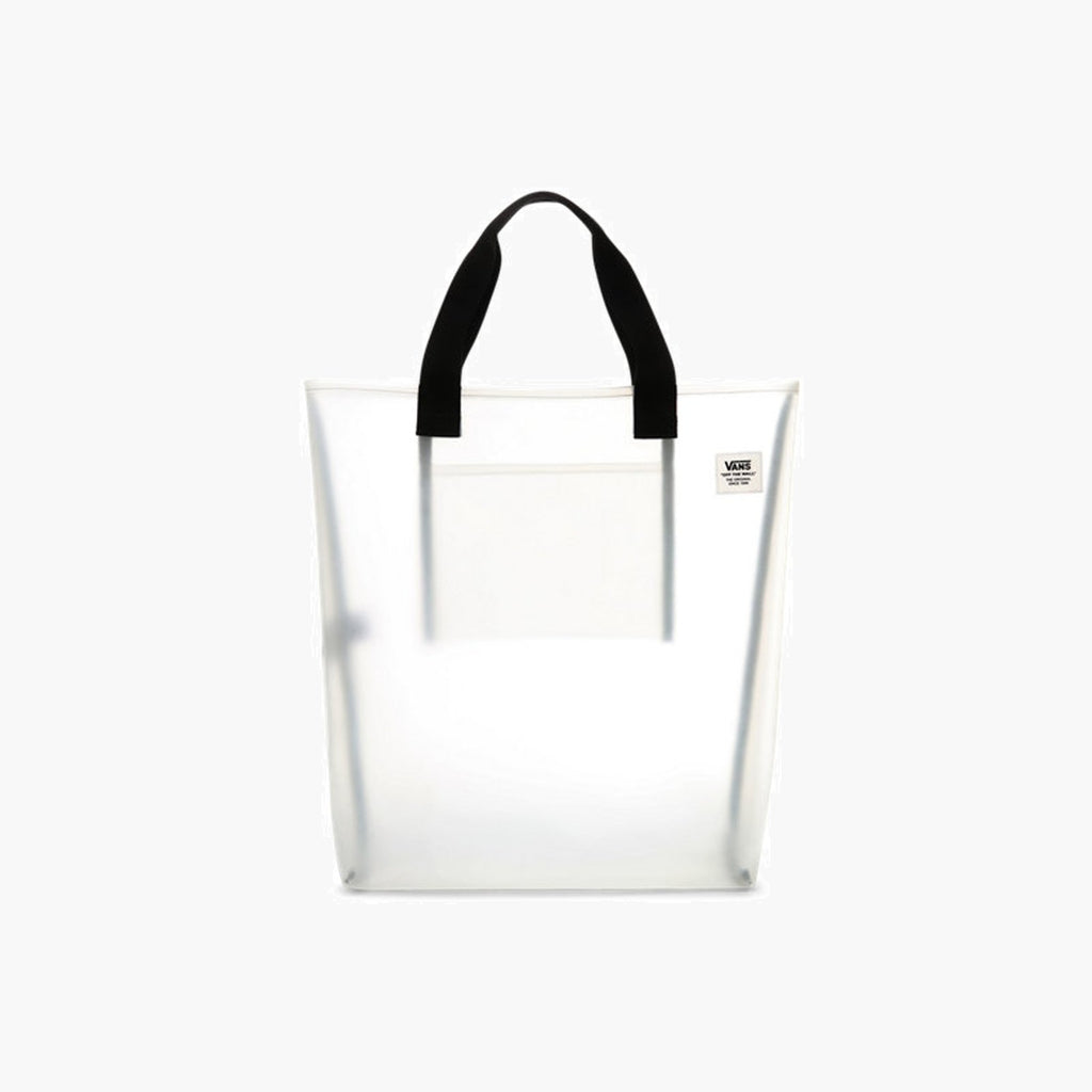 Accessories One Size Vans Clear Tote VN0A45DJCLR1-White-One Size Vans