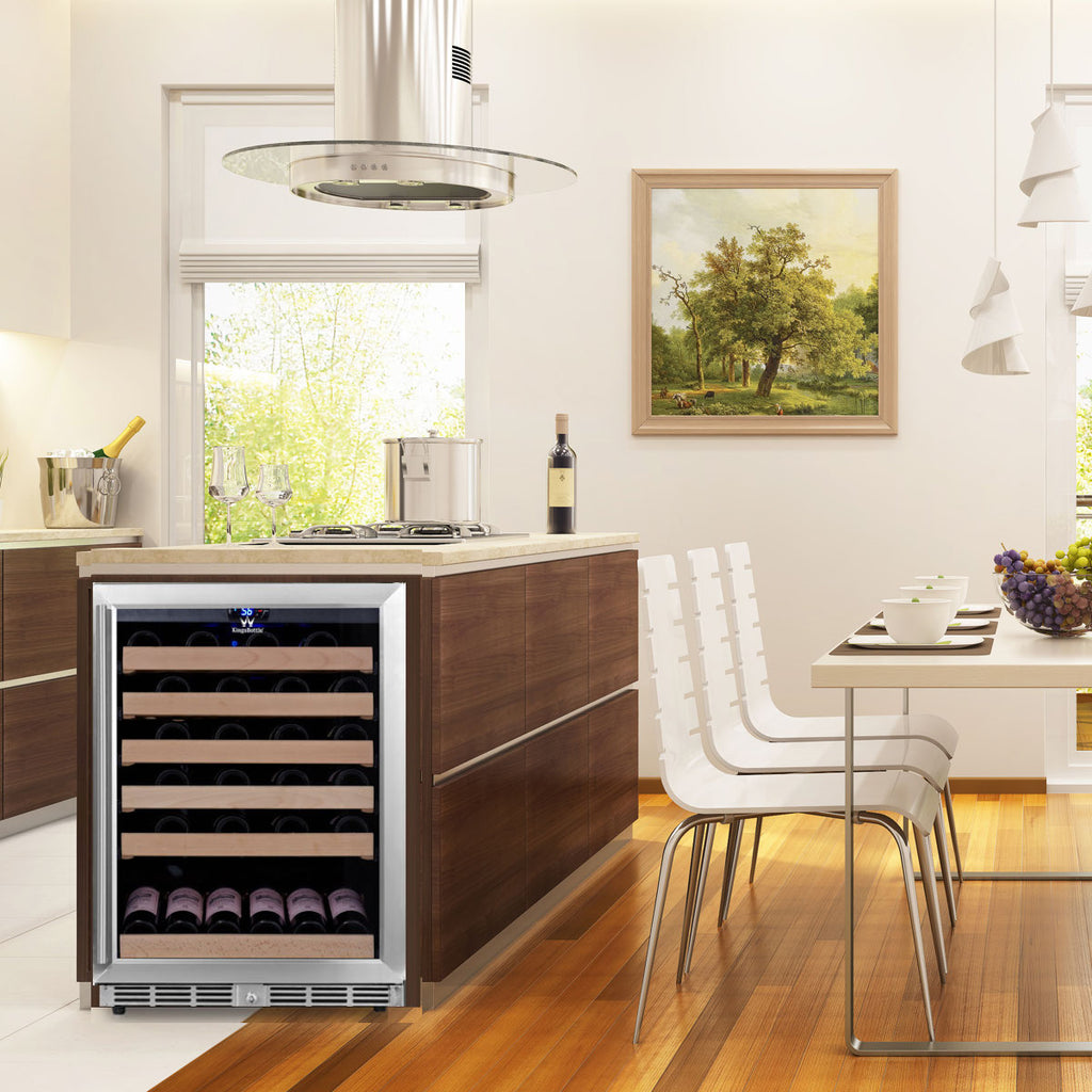 Built In Under Counter Wine Fridge from KingsBottle