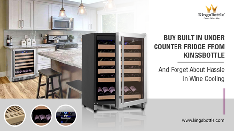 Built-In Under Counter Fridge from KingsBottle