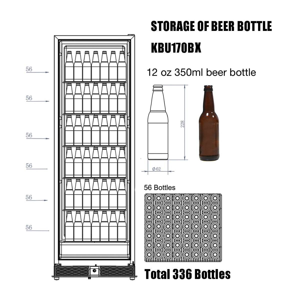 KBU170b Storage of Beer Bottle