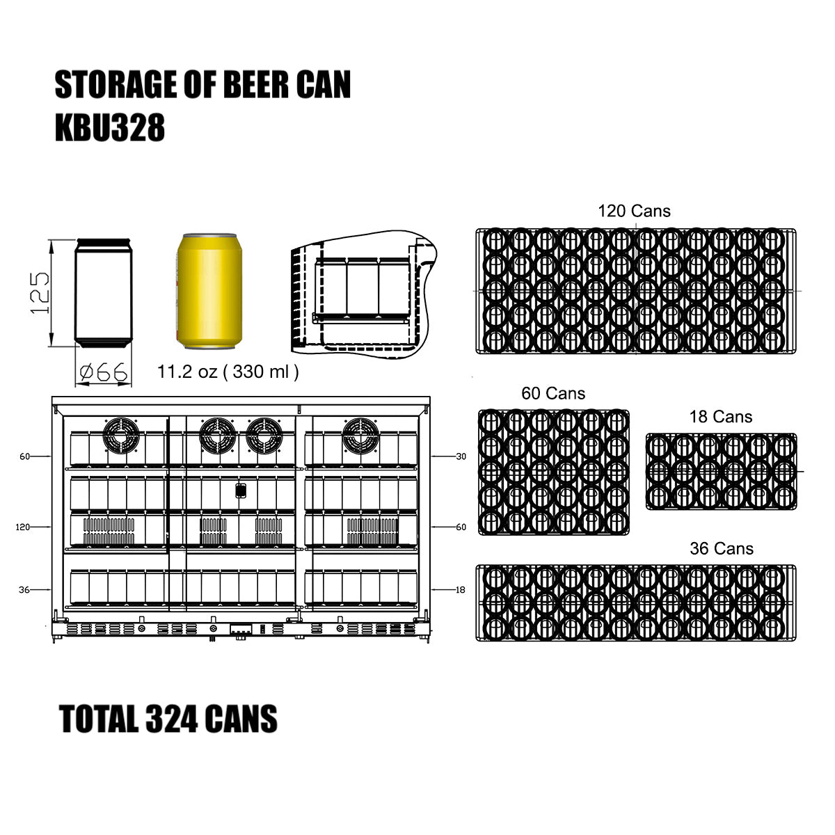 KBU328 Storage of Beer Can