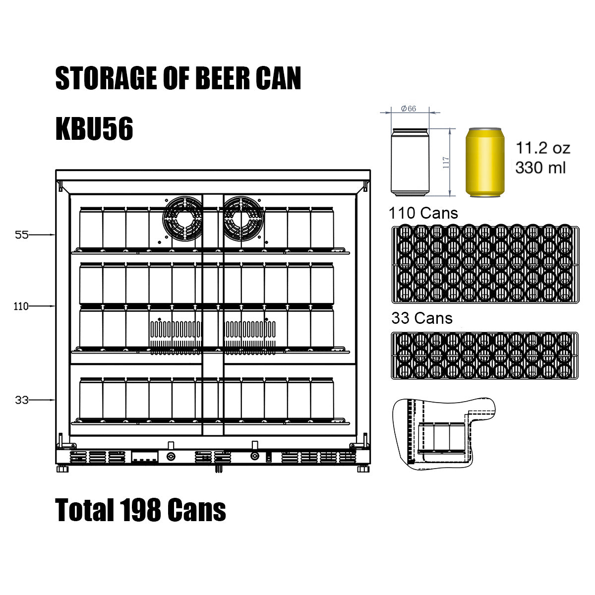 KBU56 Storage of Beer Can