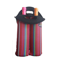 KingsBottle Two-Bottle Wine Tote