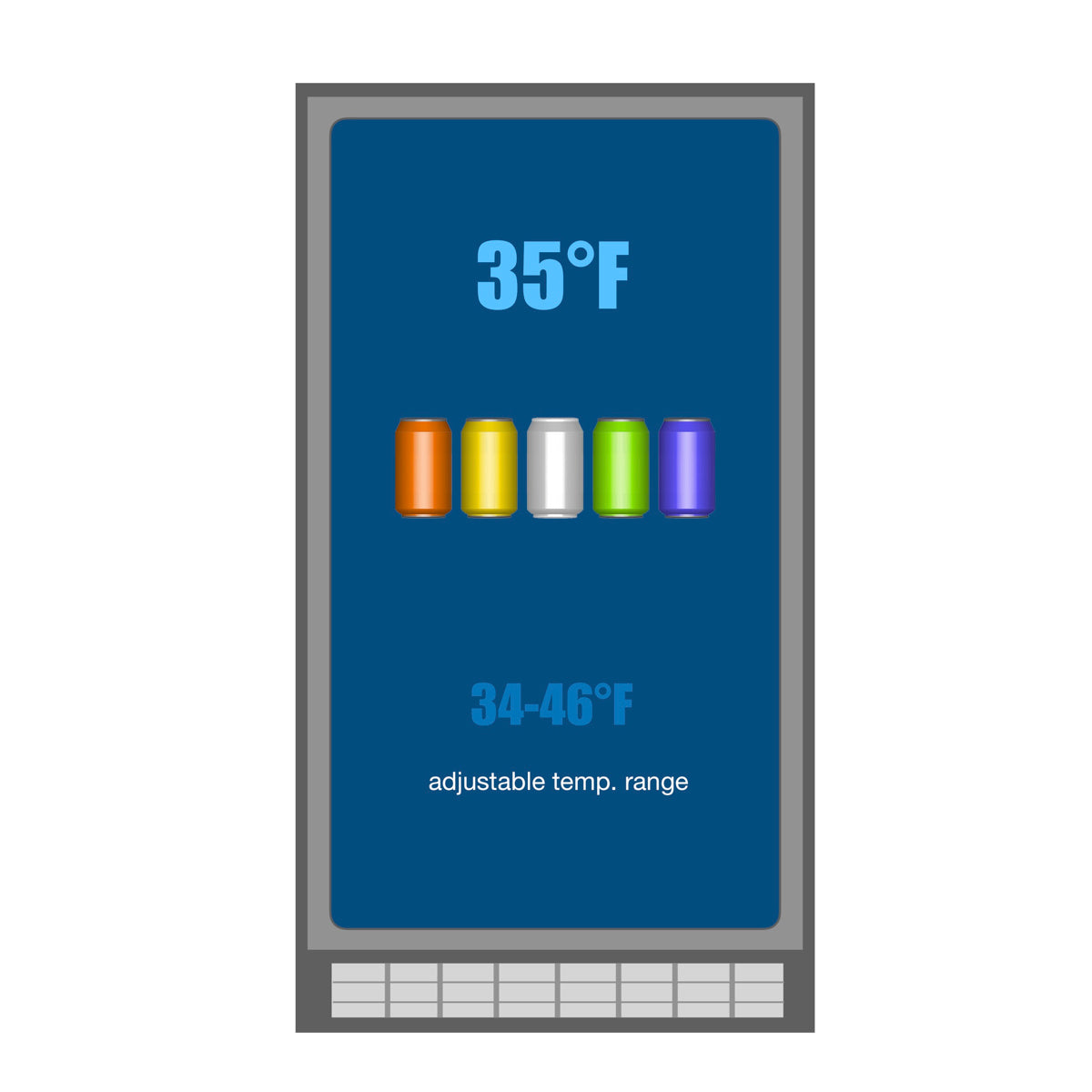 KBU100B Temperature range
