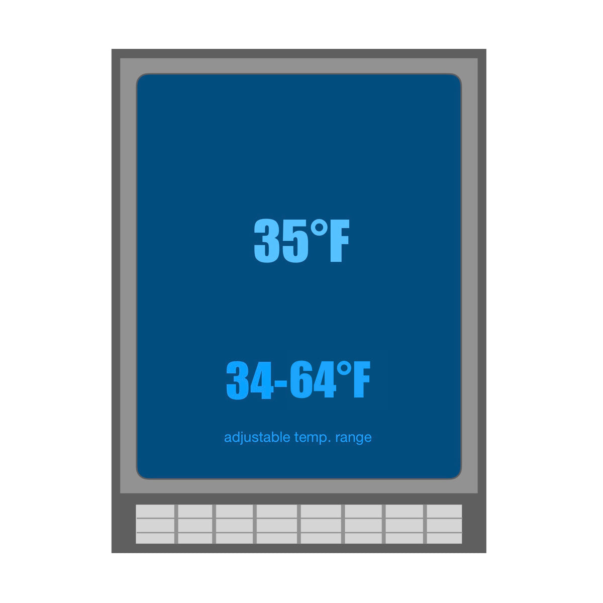 KBUSF54B Temperature range