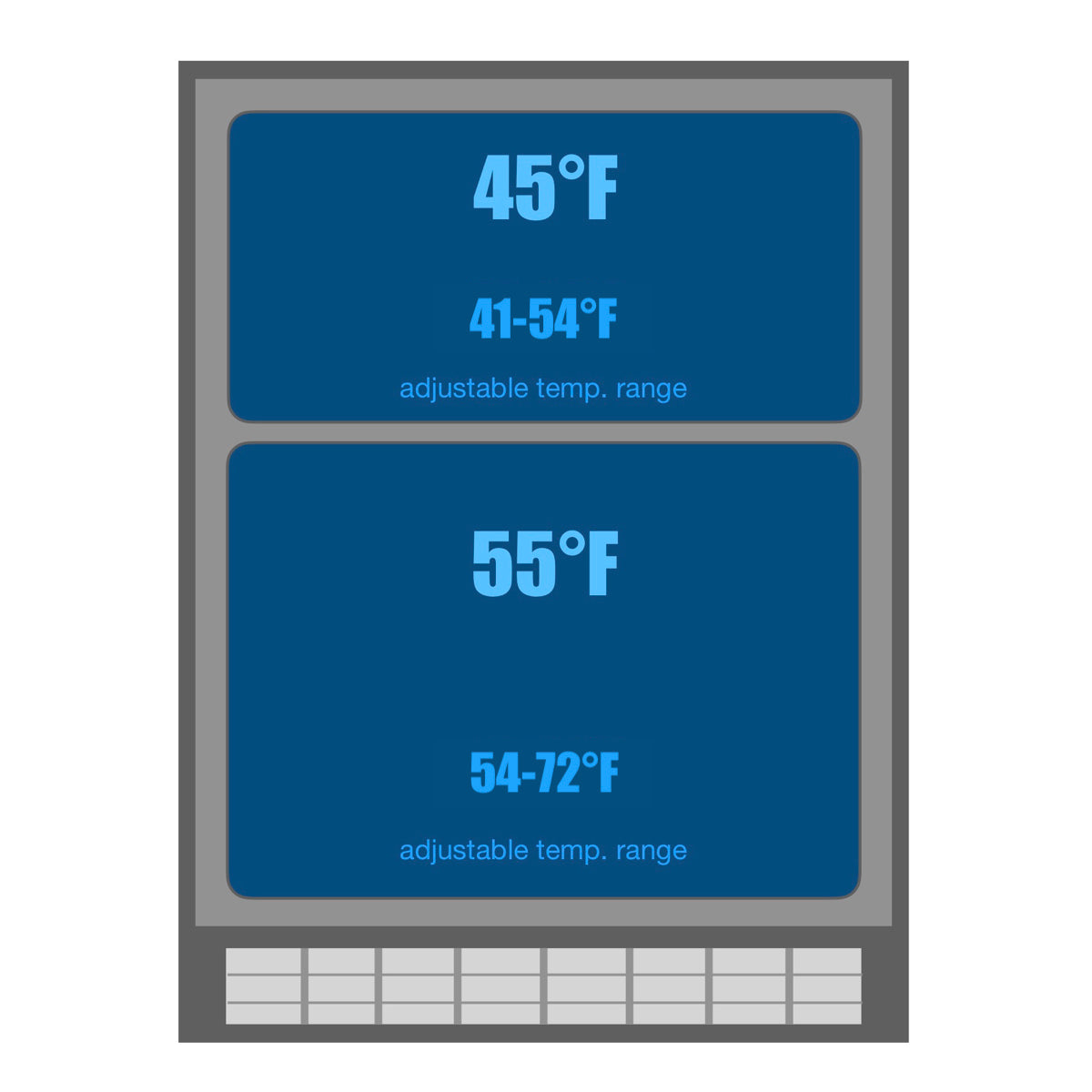 KBUSF54D Temperature range