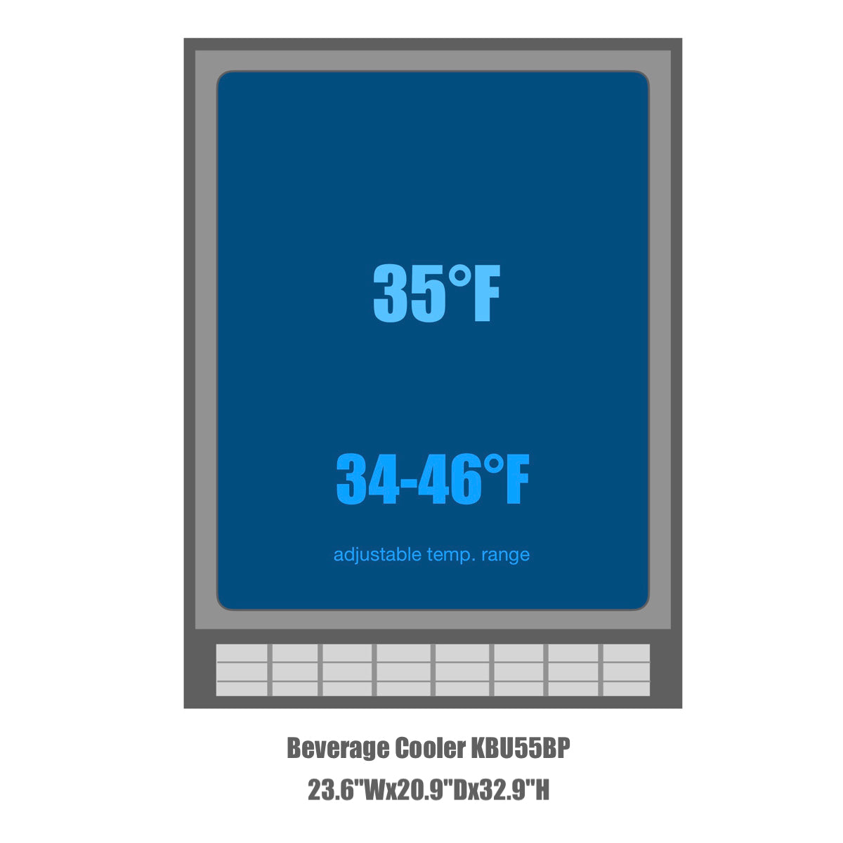KBU55BP Temperature range