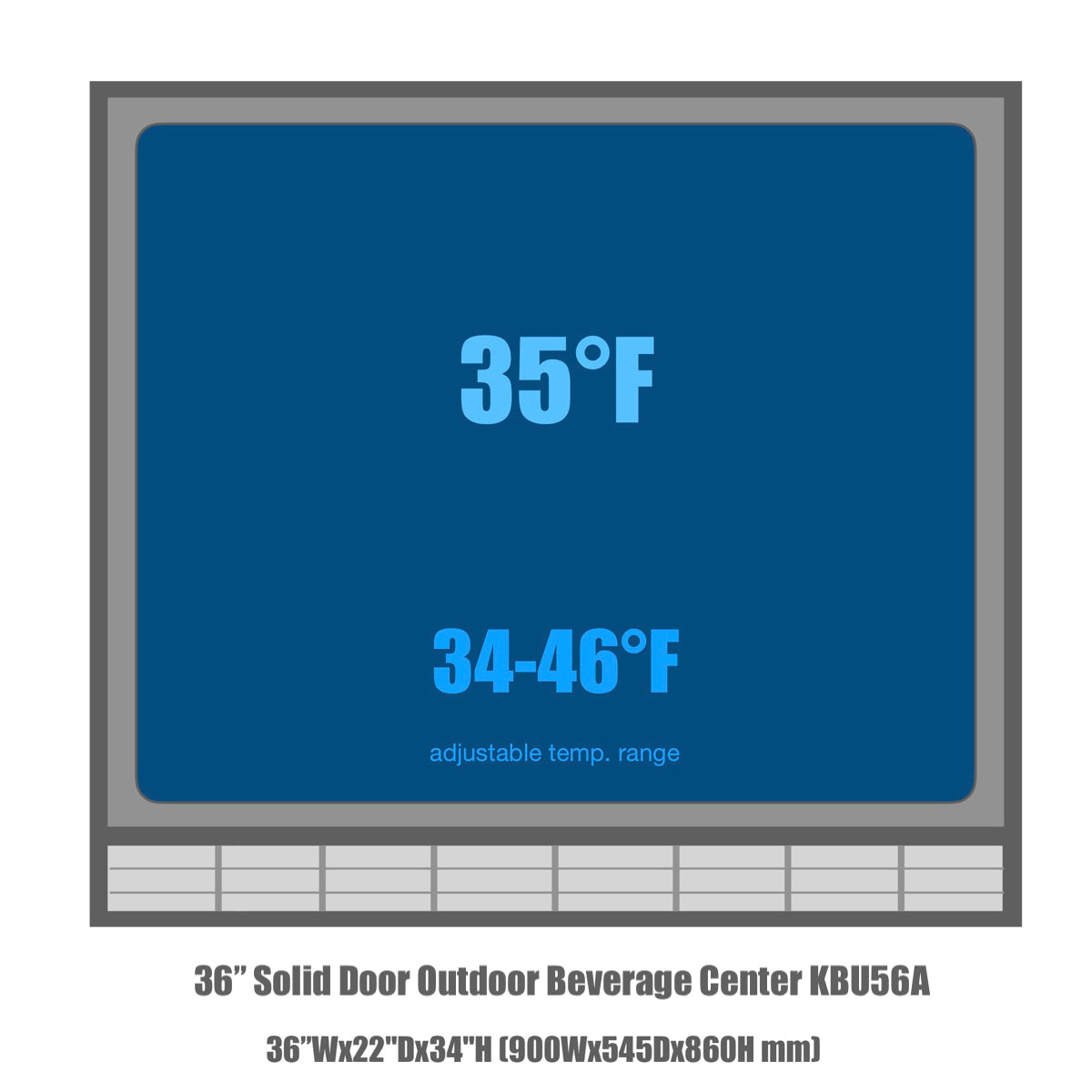 KBU56A Temperature range