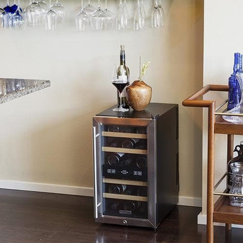 Reconditioned wine refrigerator on sale at KingsBottle
