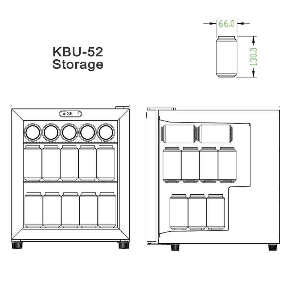 KBU52 Storage of Beer Can