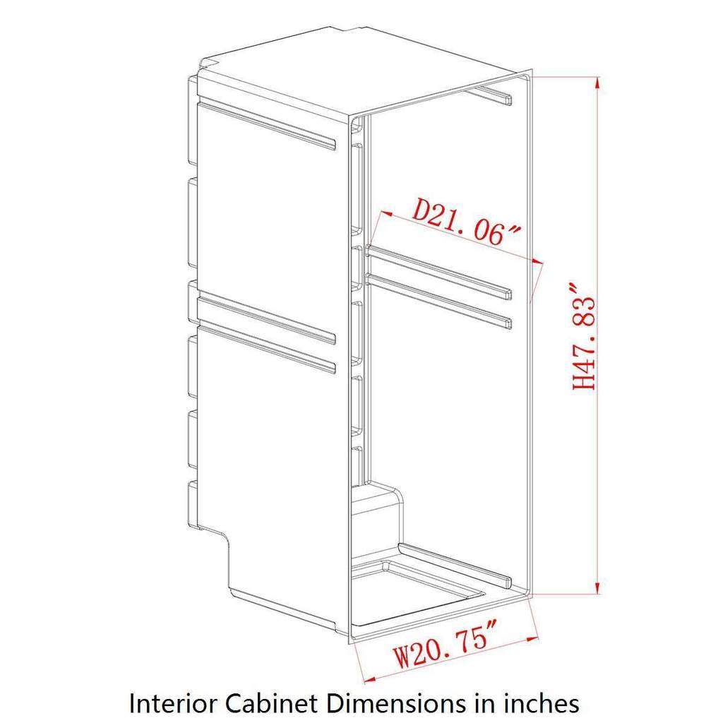 KBU100 Interior Dimensions