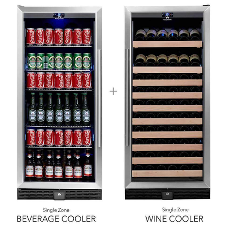 Shop  Dual Zone Beer and Wine Fridge Online