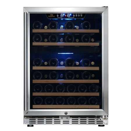 "24"" Dual Zone Built-in Wine Cooler"