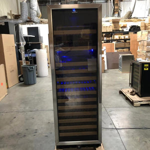 SAMPLE on Sale - Large Wine Cooler Fridge With Glass Door & Display Shelves