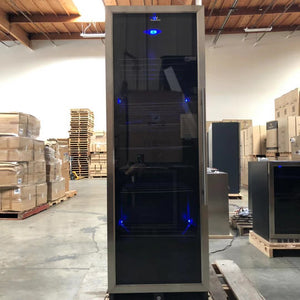 REFURBISHED- Upright Beverage Cooler Beer Fridge with Glass Door-SOLD