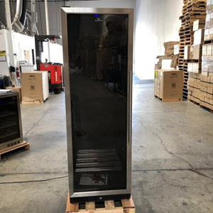 REFURBISHED- Upright Beverage Cooler Beer Fridge with Glass Door-SOLD 9121