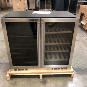 "Refurbished 39"" Beer and Wine Cooler Combo"