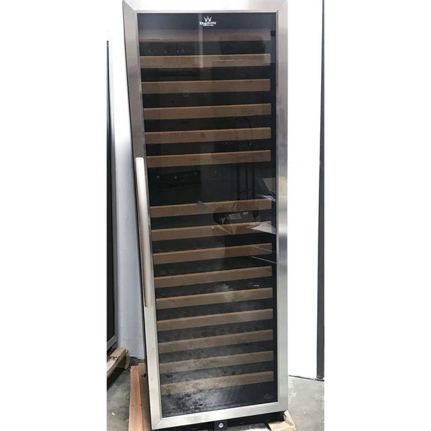 KBU170DSS CURVEDHANDLE 170 Bottle Dual Zone Wine Cooler - ON SALE